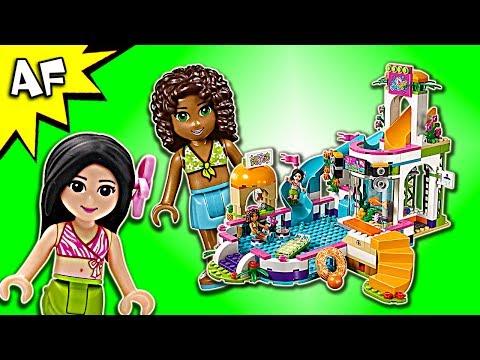 lego-friends-heartlake-summer-pool-41313-speed-build