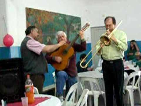 seguirte solo a ti por Ruben Benitez con el trombon