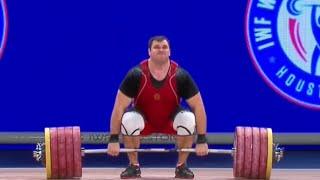 2015 World Weightlifting Championships, Men +105 kg \ Тяжелая Атлетика. Чемпионат Мира