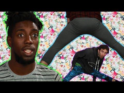 Guys Try Womens Yoga Pants