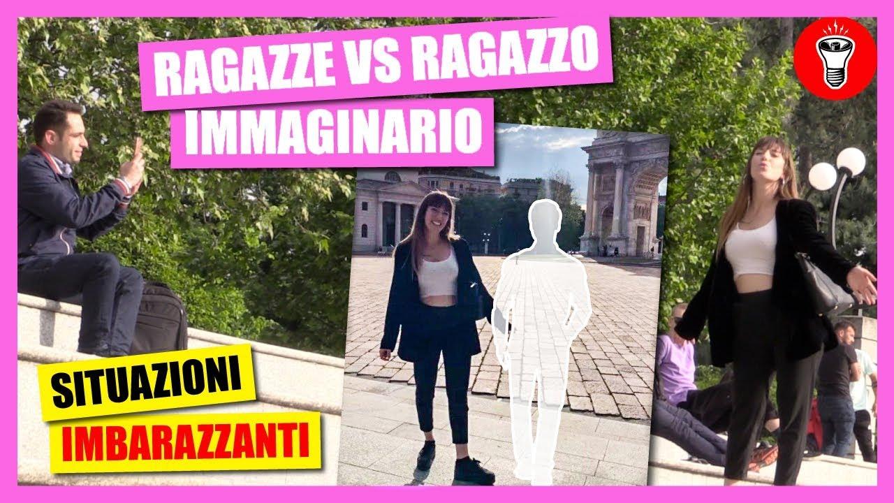 Ragazze Vs Ragazzo Immaginario - [Candid Camera] - theShow