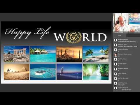 Happy Life World 14 - Live Webinar: Aufzeichnung 28.01.2017