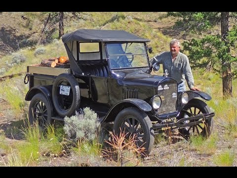 1925 Model T Ford at Work