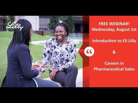 Intro To Eli Lilly Co And Careers In Pharmaceutical Sales YouTube