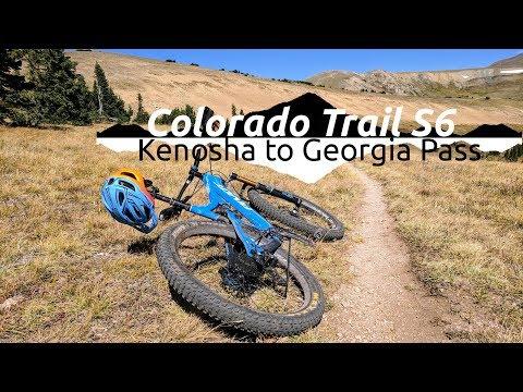 Spiksplinternieuw Mountain Biking Kenosha to Georgia Pass :||: Colorado Trail GS-93