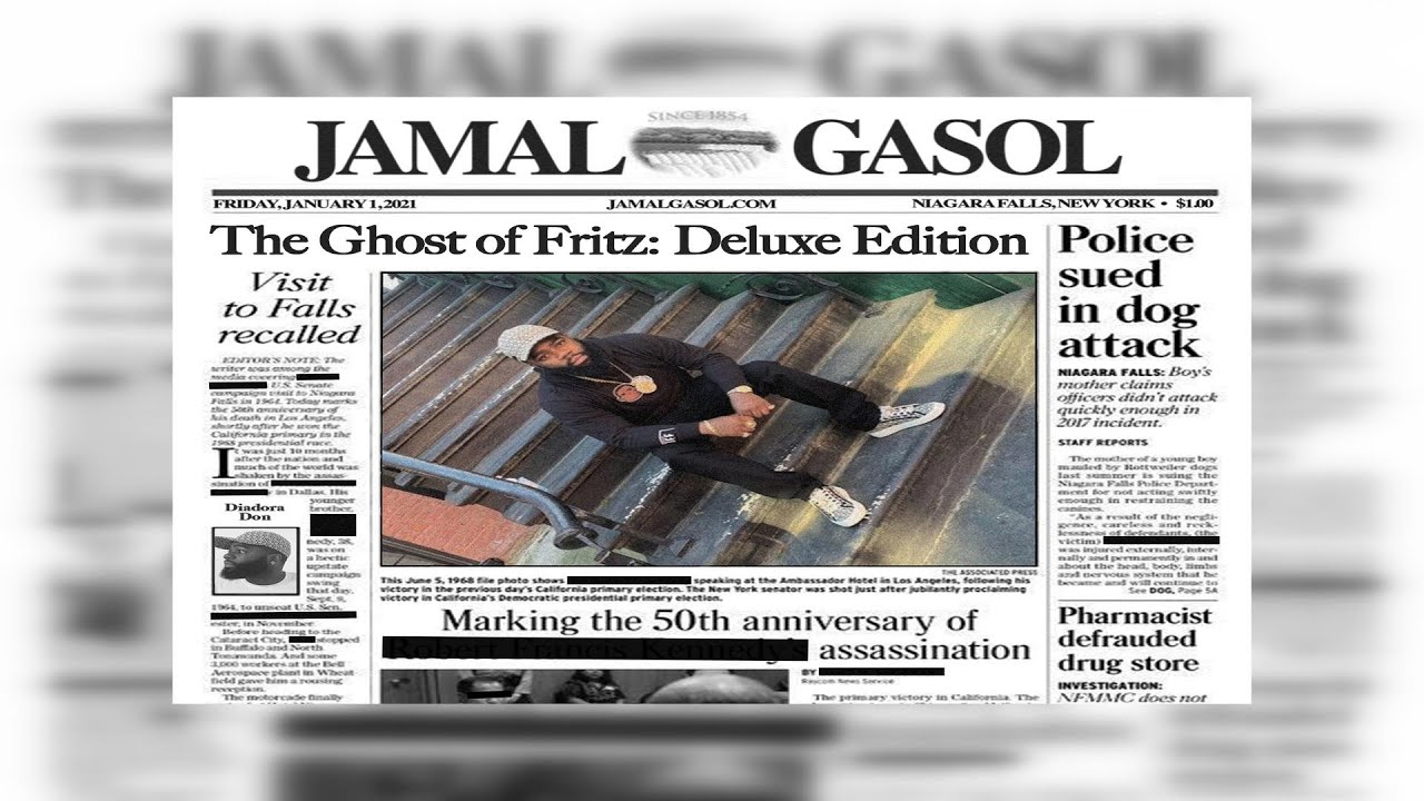 Jamal Gasol - The Ghost Of Fritz (Deluxe Edition) Ft Big Twins (2021 New Full Album) (PD Quis Star)