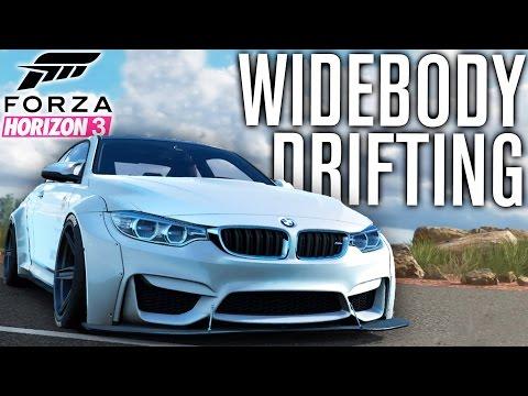 Forza Horizon 3 Gameplay | WIDEBODY BMW M4, DRIFTING & CUSTOMIZATION TALK