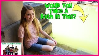 Would You Bathe In Green Water?/ That YouTub3 Family