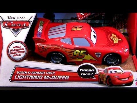 2013 Cars 2 World Grand Prix Lightning Mcqueen Mega