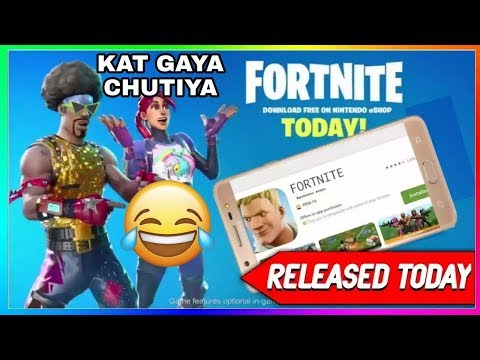 FortNite DownLoad On Android | Androking & MPS Proved | Collab | NINTENDO SWITCH KYA HAI | Hindi