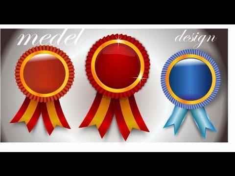 how to make school medal design