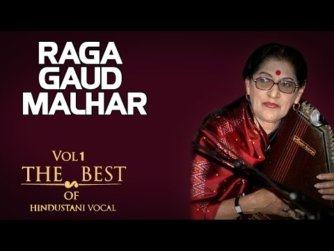 Raga Gaud Malhar- Kishori Amonkar (Album: The Best Of Hindustani Vocal Volume I )