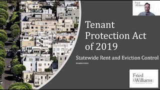 California Statewide Rent Control Tenant Protection Act (TPA) Explained