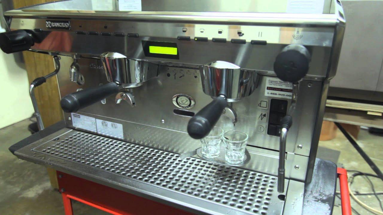 Rancilio Classe 8 2 Group Commercial Espresso Machine