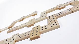 Produktvideo zu Maxi-Domino Mespi Naturholz