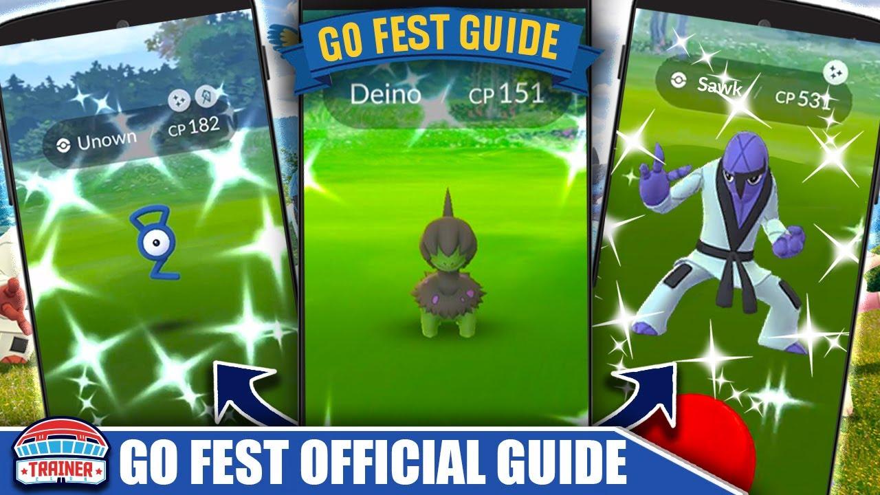 Pokmon GO Fest 2021 Begins Today: Day One Details