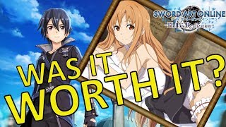 Was it worth it? Sword Art Online Hollow Realization