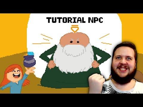 Fooling the Heroes! - Tutorial NPC - Community Game Jam thumbnail