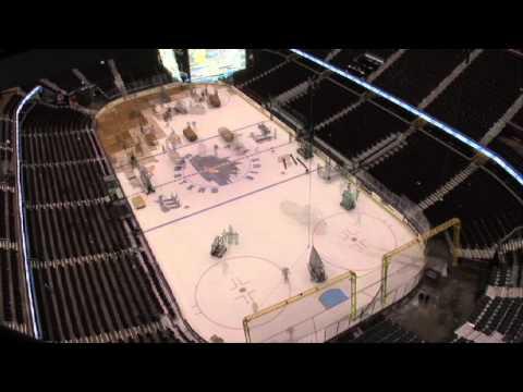 Quicken Loans Arena Floor changes 5 times in 48 hours