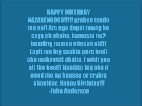 Happy birthday Naza!