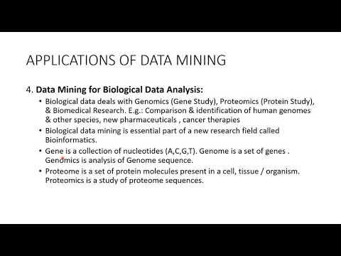 Data Mining Applications