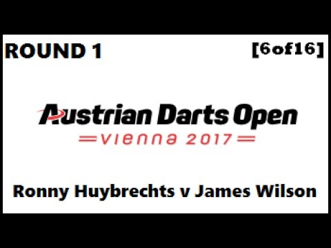 Austrian Darts Open 2017 HD - Round 1 [6of16]: Ronny Huybrechts v James Wilson