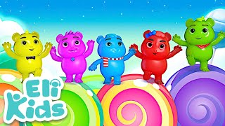 Gummy Bears Song  | Color & Number Learning | Fun video for kids | Nursery Rhymes