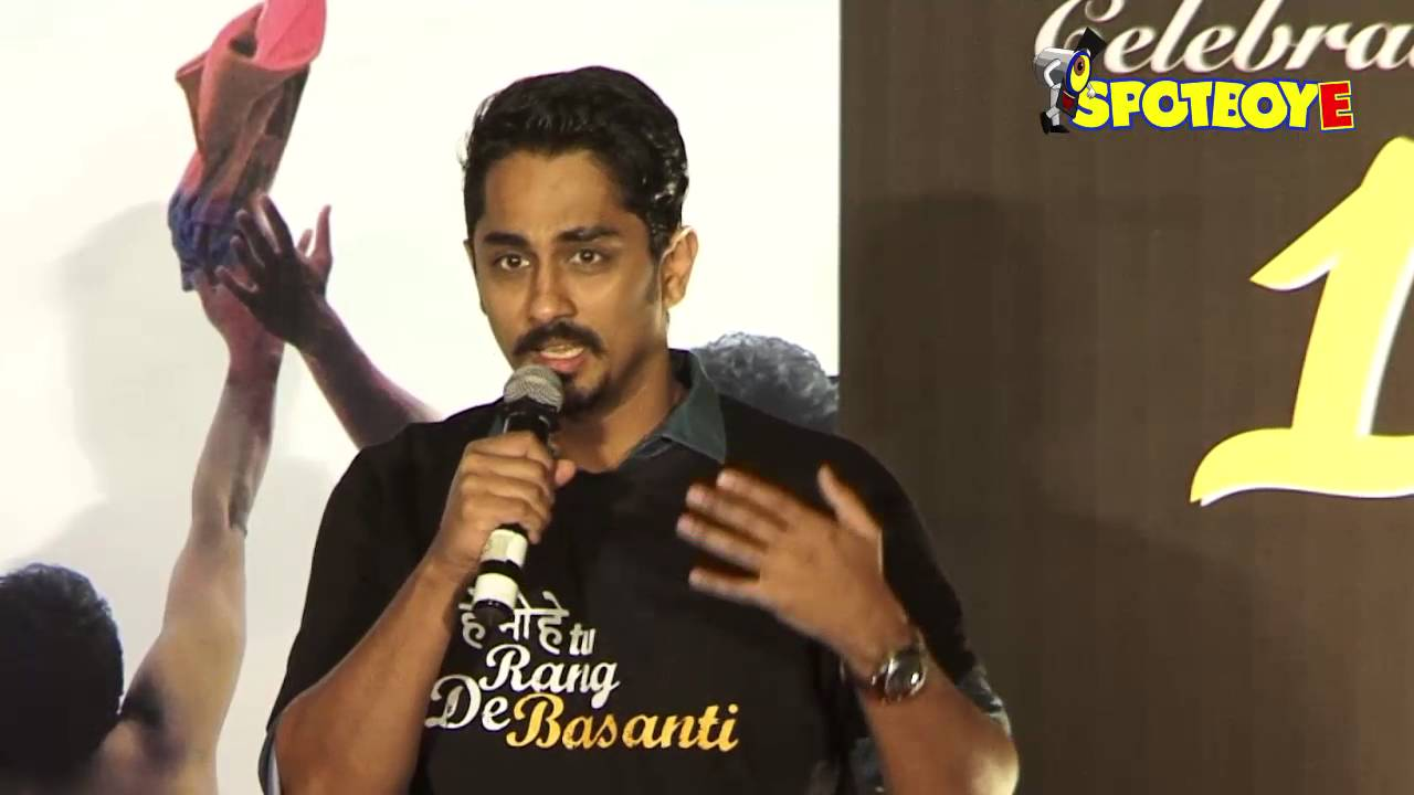"Siddharth Narayan recollects his ""Rang De Basanti"" making ..."