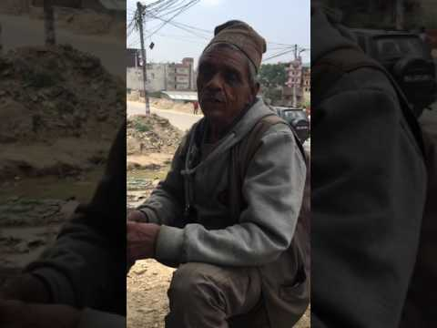 Old man with talent business (Nepal talent )