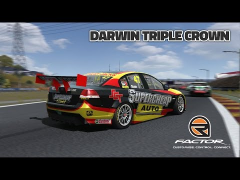rFactor: Darwin Triple Crown (V8 Supercar @ Hidden Valley)