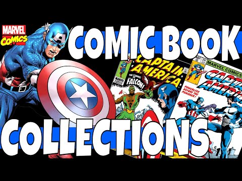 CAPTAIN AMERICA Comic Book Collection - Marvel Comics - Silver Age Bronze Age And Modern Age
