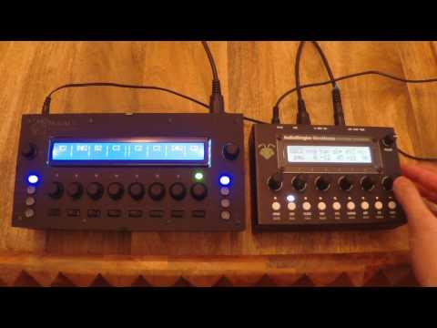 MidiAlf Bassline Shootout - Audiothingies MicroMonsta