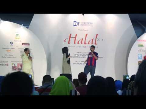 Mira Filzah at Singapore Expo (Janam janam)