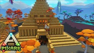 Minecraft Ark Coop #5: Kim tử tháp lớn nhất minecraft