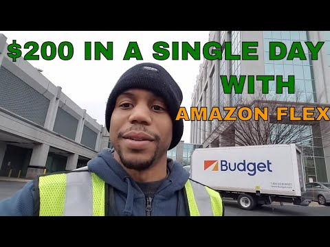 Amazon Flex App. Made almost $200 in one delivering for Amazon and Caviar #VLOG 11
