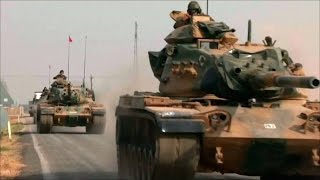 Турция вдвое увеличила количество своей бронетехники, ведущей бои на севере Сирии.