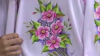 Pintura em tecido por Tutorialdiversos