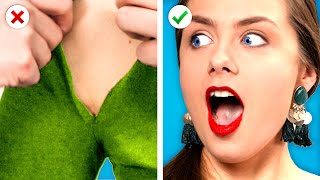 WHOOPS! 10 DIY Clothes Hacks &amp Fashion Ideas to Fix Your Outfit by Crafty Panda
