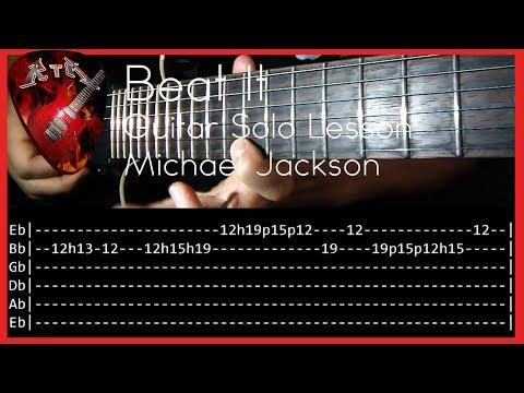 Beat It Guitar Solo Lesson - Michael Jackson