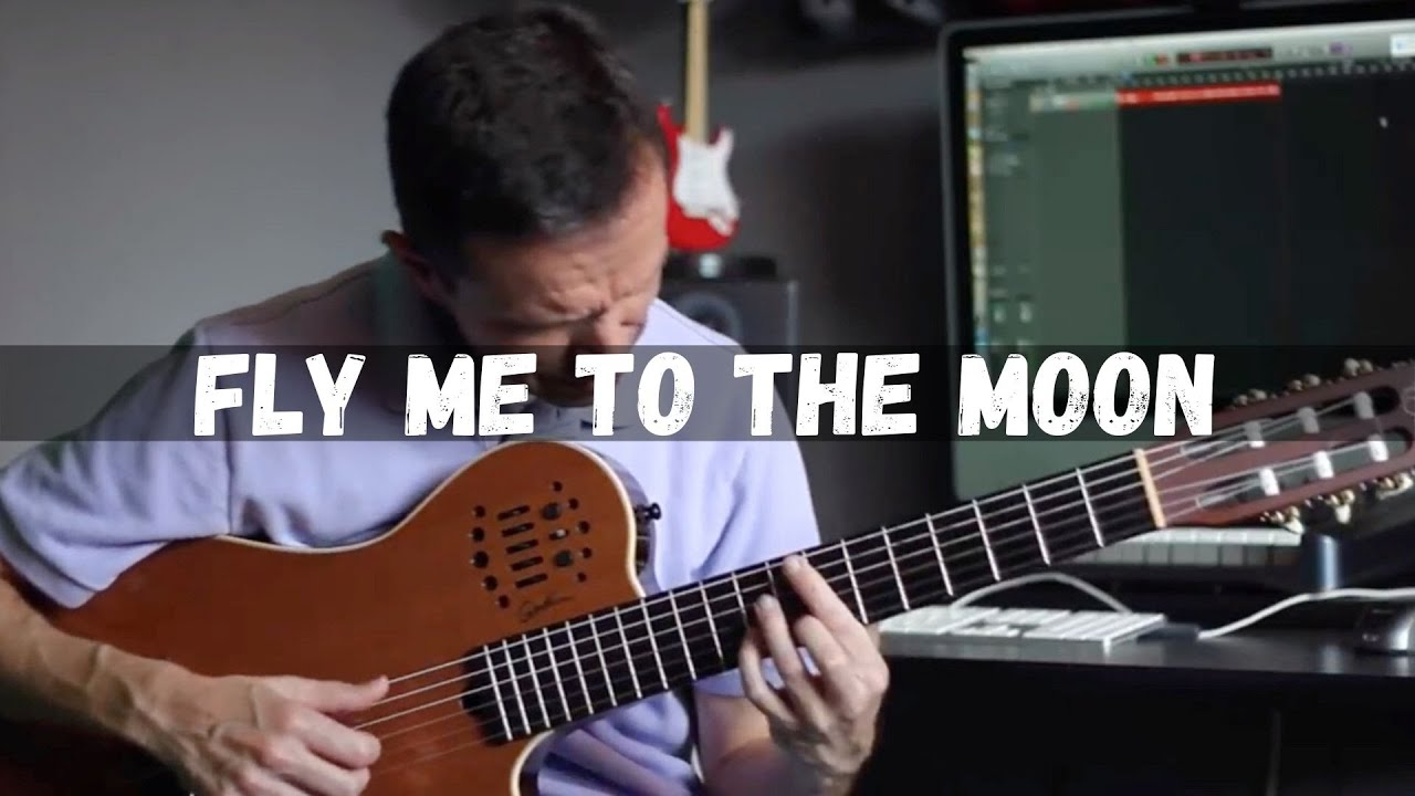 Fly Me To The Moon Solo Jazz Guitar Youtube