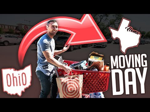MAN VS. TARGET HAUL | HOW MUCH DOES IT REALLY COST TO MOVE STATES?