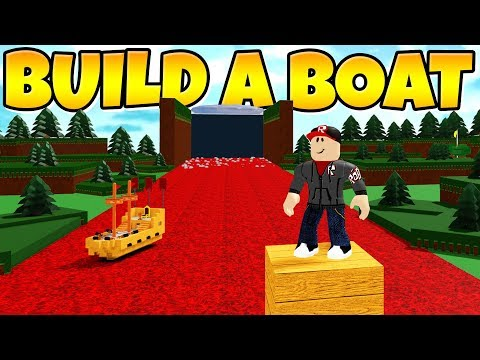 I REPLACED WATER WITH *LAVA* In Build A Boat