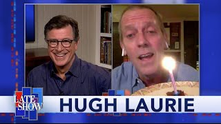 Hugh Laurie Brings Stephen A High Tech Birthday Surprise From Across The Pond