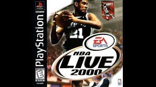 NBA Live 2000 (PlayStation) -  Los Angeles Lakers vs. Minnesota Timberwolves