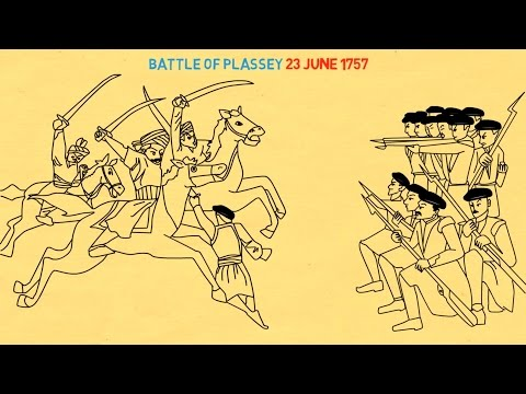 Battle of Plassey : From Trade to Territory