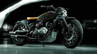Royal Enfield KX Concept Meet Me In The Dark