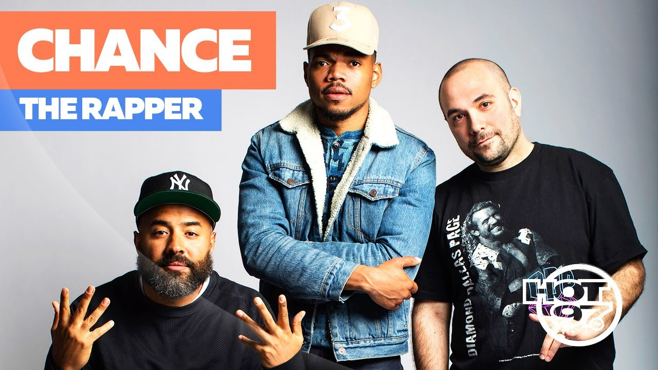 9cacd4ccdb6cf Chance the Rapper Takes Over Hot 97   Talks About Everything! - YouTube