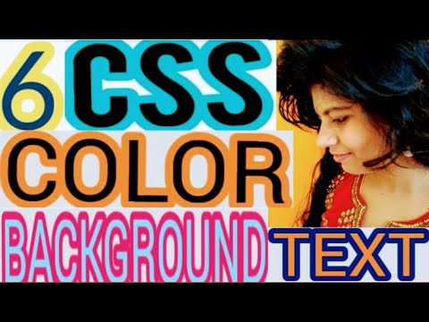6:CSS👉 COLOR BACKGROUND & TEXT #color 👩💻CODING #WhiteHatJr INTERVIEW #lovelyspeaks #css #style #CSS