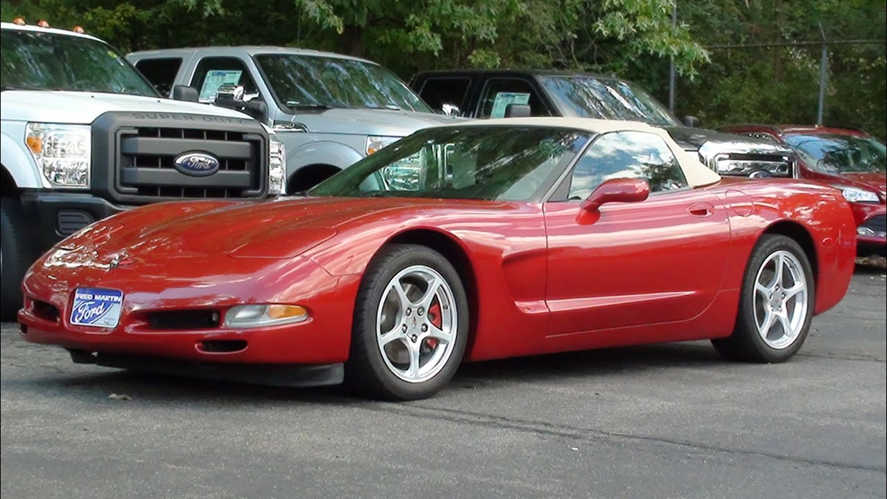 mvs - 1998 chevrolet corvette (c5) - youtube