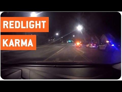 Instant Karma Red Light Runner | Speeding Car